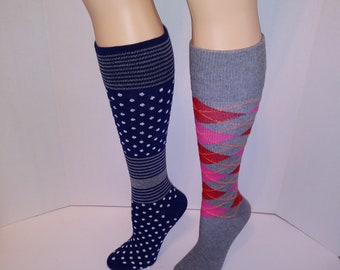 2 pair Dr. Shams compression Socks 9-11, 8-15 mmHg Support Socks