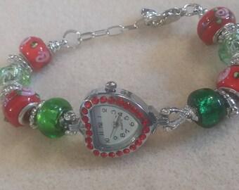 Beautiful rhinestone watch