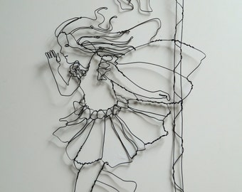 Wire Flower Fairy
