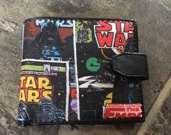 Custom made star wars inspired mens/womens wallet