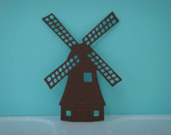 Cut for scrapbooking and card Brown drawing paper mill