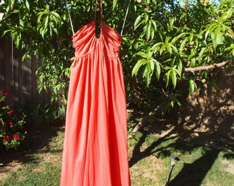 Orange Retro John Kloss for Cira Dress
