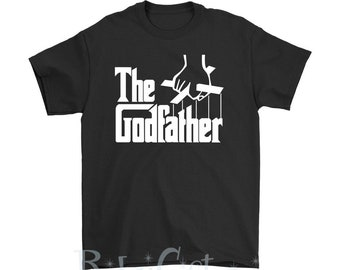 The Godfather Men's T-Shirt (godparent gift, godfather present, godfather gift, godfather, cute godfather gift, godfather present)