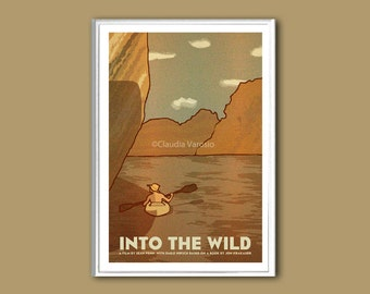 Into the Wild poster print in various sizes