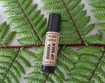 Manuka Honey Lip Balm // Natural Healthy Skincare // Palm Oil Free