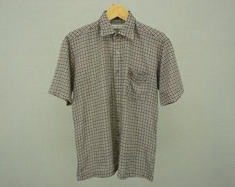 Lyle & Scott Shirt Men's Size M Vintage Lyle and Scott Oxford Button Down Shirt
