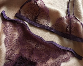 The Violett Lingerie Set