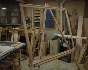 The Osprey  Easel style tapestry/weaving loom