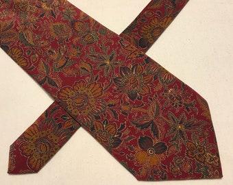 Vintage Charleston Tie Rack silk tie