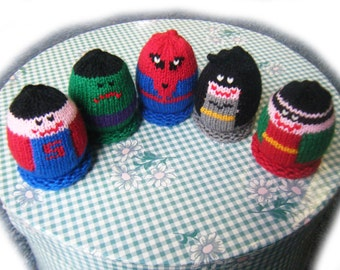Super Heroes Egglet Set (Includes 5 different egglets)