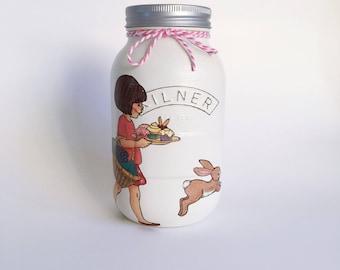 Belle and Boo inspired Kilner Jar • childrens room • nursery decor