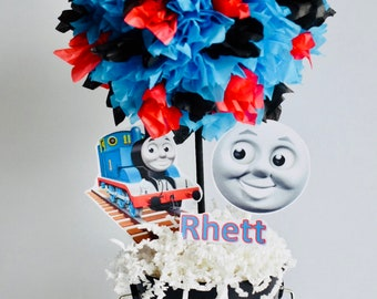 Thomas The Train Birthday Party Decoration, Centerpiece, Thomas and Friends centerpieces and decorations