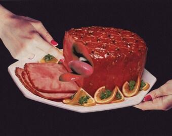 meat - ORIGINAL COLLAGE