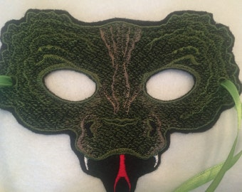 Lizard Mask - Child or Adult