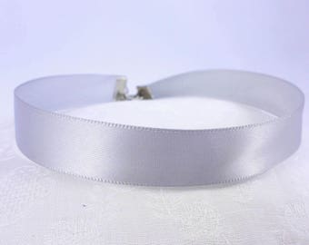Choker Collar Grey