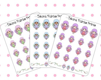 Fairies Washi Tape Planner Craft Lover ( C23 L23 S23 )