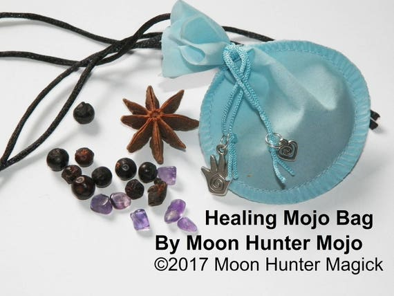 Healing Mojo Bag Moon Hunter Mojo Hand Made