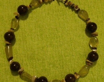 Earth Toned Beaded Necklace