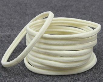 Wholesale Nylon Headbands, Nylon Headbands, Ivory, Cream, Soft Headbands, One size fits all, Skinny Headbands, Headband supplies, Bulk DIY