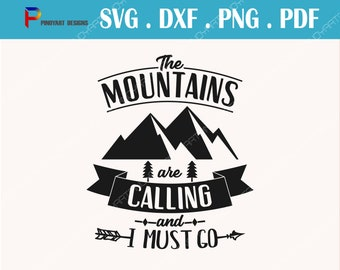 mountain svg,mountain svg,  mountain svg file, mountains svg, the mountains are calling and i must go svg, camper svg, camping svg, hiking