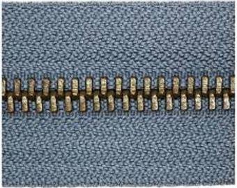Blue seprable, 50cm brass closure
