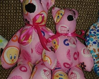 Handmade teddy bear sets