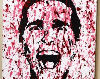 American Psycho Patrick Bateman Painting