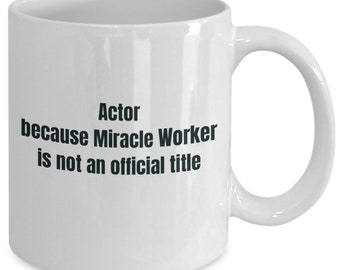 Actor gifts coffee travel cup mug gift men women