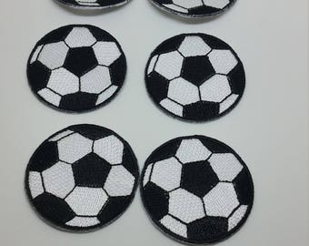 Set of 8 Soccer Patch 4.5cm