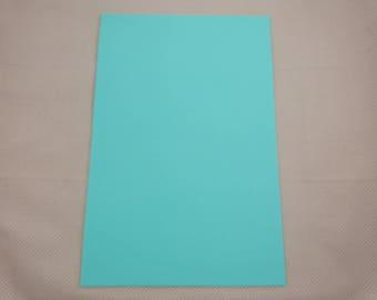 Foam rubber sheet: turquoise