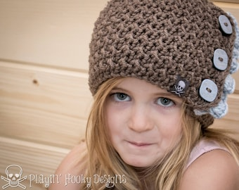CROCHET PATTERN Evergreen Beanie