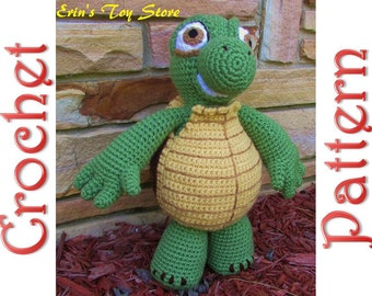 Verne the Turtle a Crochet Pattern by Erin Scull