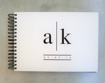 Love In Bold | Personalised Custom Made Guestbook | Wedding | Engagements | Parties | Australia Seller
