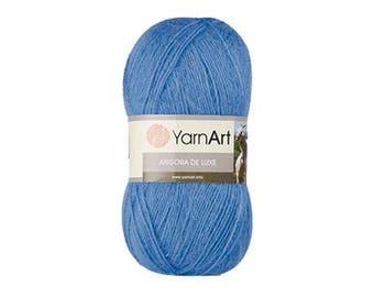 Angora De Luxe Yarnart Blend wool Mohair Acrylic yarn Fine yarn Knitting yarn Hand knit yarn Soft yarn Autumn yarn Winter yarn Crochet yarn