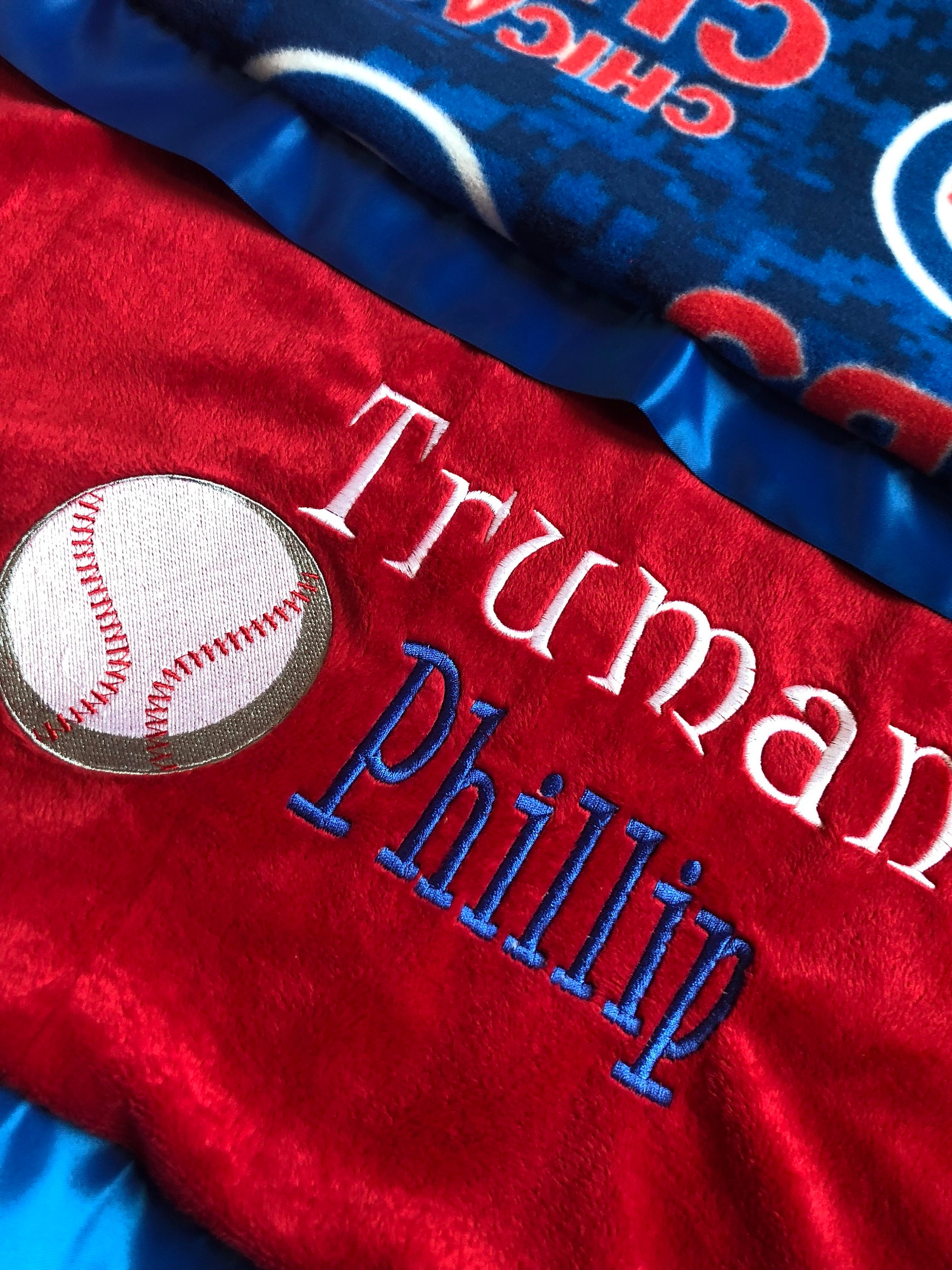 Personalized cubs minky baby blanket baby cubs shower gift baby gallery photo gallery photo gallery photo gallery photo negle Choice Image
