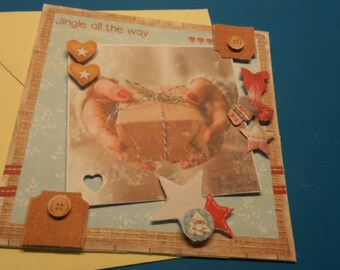 3D 932 hand made greeting card