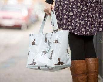 Labrador Bag - Oilcloth bag - Tote Bag - Shoulder Bag