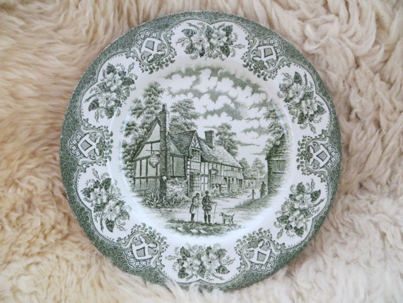 Items similar to English Ironstone Tableware Ltd - Old Inns Series ...