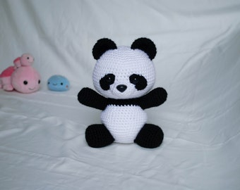 Panda Bear - PDF Crochet Pattern Amigurumi Animals