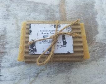 Lemon & Eucalyptus Soap w/ Goats Milk.
