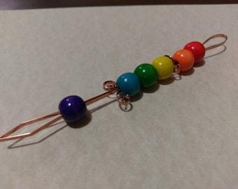 Rainbow Roach Clip