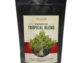Bonsai Tree Soil - Tropical Blend. Comes in 2 Quarts, 4 Quarts, 2.5 Gallons, and 5 Gallon Resealable Bag!!