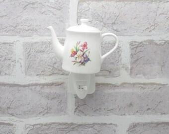 Iris Night Light Coffee Pot With On/Off Switch Nightlight Electric Uk 5002