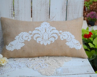 FRENCH INSPIRED PILLOW handmade,shabby cottage