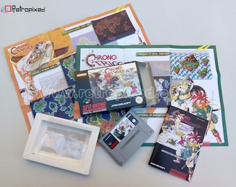 Chrono Trigger - PAL - Complete in Box SNES Reproduction