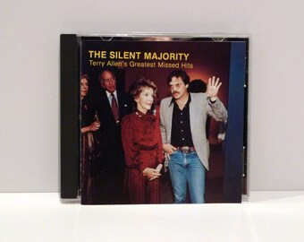 Terry Allen Greatest Missed Hits The Silent Majority CD Fate Recordings Contemporary Performance and Visual Artist 1993 Texas Country Folk