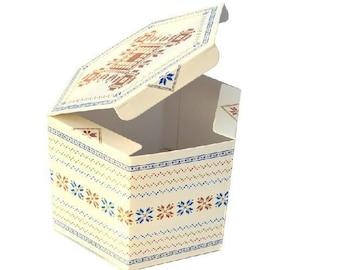 Gift box, perfect for cookies, Christmas theme