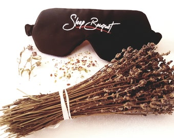 Organically Scented Sleep Mask by Sleep Bouguet