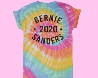 Bernie Sanders 2020 Tye Dye T-Shirt