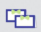 Printable Bow Tie Food Te...